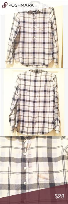 Equipment plaid shirt!  Softest material!! Size M Super chic plaid shirt by Equipment.  Size M. Equipment Tops Button Down Shirts