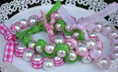 A Little Loveliness: Birthday Craft Fair Project: Beaded Friendship Bracelets