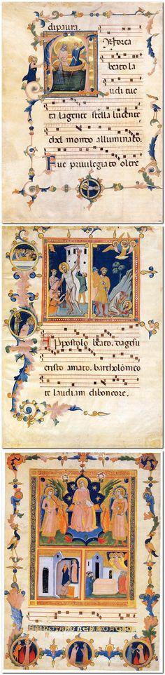 PACINO DI BONAGUIDA Italian illuminator (active 1302-1340 in Florence)