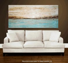 art painting large painting 56 x30  abstract painting landscape painting , from jolina anthony signet  express shipping. $289.00, via Etsy.