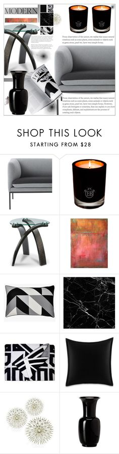 """""""MODERN"""" by dragananovcic on Polyvore featuring interior, interiors, interior design, home, home decor, interior decorating, ferm LIVING, EB Florals, Williams-Sonoma and Savannah Hayes"""