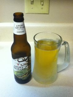 Angry Orchard Elderflower. Delicious cider with slight floral aromatics. Pretty good.