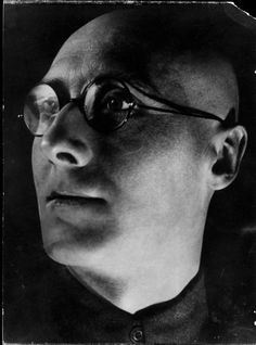 Alexander Rodchenko's photo of Writer Sergei M. Tretyakov.