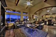 great open space in this home in Scottsdale, Arizona