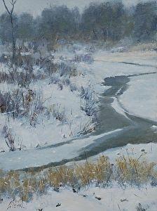 Monument Creek by Greg Clibon Acrylic ~ 12 x 9