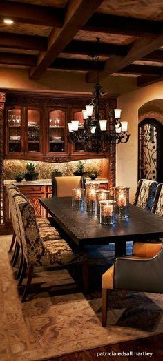 Tuscan Dining Room Rooms Elegant Design