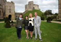 Hollywood Stars at the Castle - Arundel our home town by www.pearlandearl.com