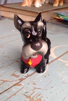 Vintage Walt Disney Figurine Jock Scottish Terrier Lady and The Tramp Cute Nice | eBay