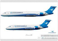 厦门航空 XiamenAir / 中国商飞 COMAC ARJ21-900 Xiangfeng / Livery Concept       厦门航空 XiamenAir / 中国商飞 COMAC ARJ21-700 Xiangfeng / Livery Concept