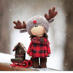 Muñecas rusas de invierno. ❤️