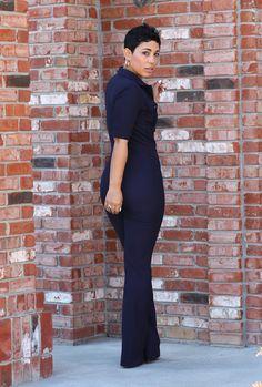 Retro Feel Jumpsuit - Mimi G Style