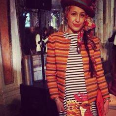 wonderful #singer @Cecilia Cipressi wearing #stellajean #ss2014 #collection