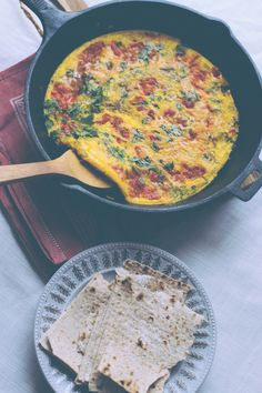 This was the best omelette I have ever tasted. Ate it for dinner. via @SpiceSpoon   Shayma