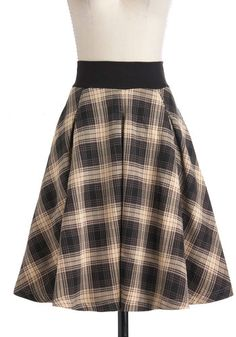 Fashionable in the Fog Skirt.
