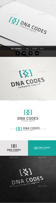 DNA Coder  Genetic Code — Vector EPS #theme #multimedia • Available here → https://graphicriver.net/item/dna-coder-genetic-code/10827978?ref=pxcr