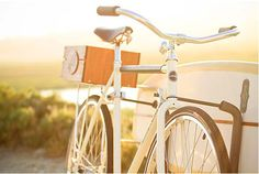 #summer #magic #bike  Linus Summer Bike with Board Mount, 'Dirty Hands' David Choe DVD, VISVIM Summit Backpack, Parra Red Light Radio Poster, Alex Verji at Young ...