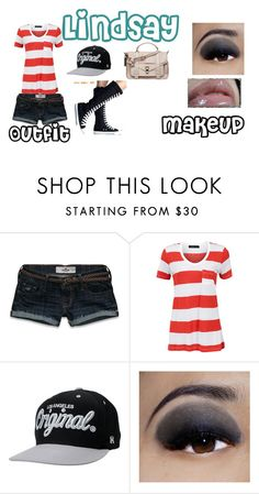 """""""Lindsay"""" by jollydolly123 ❤ liked on Polyvore featuring Hollister Co., Modström, KR3W, Ellis Faas, Kanebo, Proenza Schouler, women's clothing, women, female and woman"""