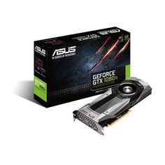 Asus GTX1080TI-FE GeForce GTX 1080 TI 11GB GDDR5X Founders Edition VR Ready 5K HD Gaming HDMI DisplayPort PCIe Graphics Card Graphic Cards