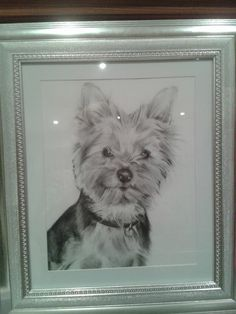 Another happy customer sent me this photo of the portrait I did for their birthday. | Alex Martin Art