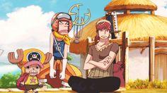 Chopper, zoro and usopp