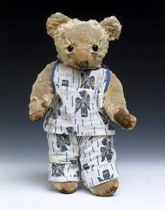 Teddy bear Merrythought(England) ca. 1935 mohair
