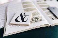 Kaboompics - Free High Quality Photos - Typography Book