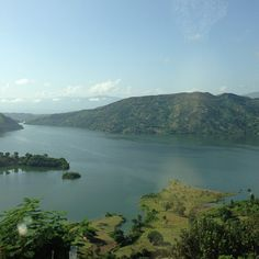 Lake Peligre in Haiti. Just a sight to behold.
