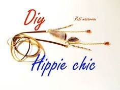 Diy. Colgante Hippie Chic. Necklace hippie chic - YouTube