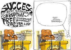 Sound Free, Jacob Zuma, Political Cartoons, Editorial, Politics