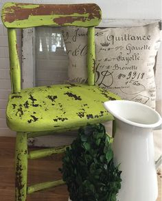 Get a gorgeous distressed Shabby Chic look with our custom blend Furniture Paint.  Our high quality paint is made in the U.S.A, requires no prep, dries quickly, and distresses easily using sand paper or the wet cloth method.  Check it out today!