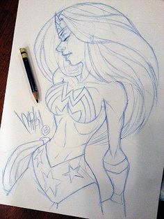 melmade the blog (the one I update ): Sketch before I watch me a movie...