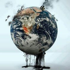 What are you going to do when all reserves are tapped out and they have fracked the life out of mother earth? Go GREEN. Reduce travel pollution with video conferencing. Salve A Terra, Save Our Earth, Save Planet Earth, Save Mother Earth, Save The Planet, Environmental Art, Environmental Justice, Our World, Jehovah