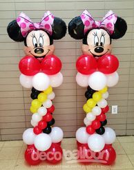 53. Minnie Mouse Specialty Balloon Columns