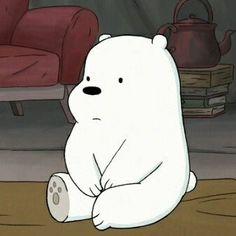 meme, cartoon, and mood image Cartoon Wallpaper Iphone, Bear Wallpaper, Cute Disney Wallpaper, Cute Cartoon Wallpapers, Ice Bear We Bare Bears, We Bear, Bear Cartoon, Cartoon Icons, Bear Meme