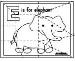 ABC Puzzle Page activity available at www.makinglearningfun.com. Pages available for every letter of the alphabet.