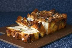Smitten Kitchen Leek Bread Pudding.  I've never had a savory bread pudding, but this looks tasty.