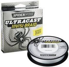 Buy Spiderwire Ultracast Invisi-Braid 65 Lb Translucent Braided Line 125 Yds New at online store Pike Fishing, Fishing Line, Deep Sea Fishing, Best Fishing, Fishing Tackle, Fly Fishing, Fishing Stuff, Fishing Rods And Reels, Rod And Reel