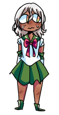 """cmms88:  """"Sailor valkyon :D,I chose Sailor Jupiter this time  """"  oh my oracle!!! this is so good!!! this concept is so damn cute!!!"""