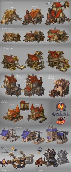 Siege - buildings by *Larbesta on deviantART