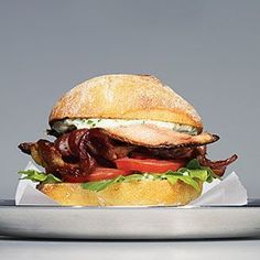 Sardine BLTs with Herbs and Lemon |