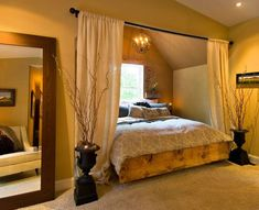 Sweet Romantic Bedroom Colors - Tuscan Inspired - Click Pic for 42 Romantic Master Bedroom Decor Ideas: