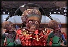 """Mars attacks !"" (1996)-  Tim Burton"
