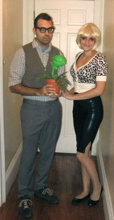 Little shop of horrors-will someone do this with me for Halloween??