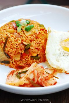 Kimchi Fried Rice by Amyq, via Flickr