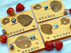 filigarn.blogspot.com - DIY - Herbstkarten ganz schnell selbstgemacht