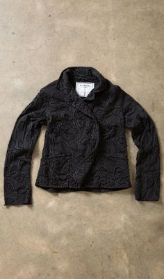 Alabama Chanin - New Leaves Double-Breasted Jacket