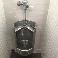 Beer keg urinal! If you wish to give your guest bathroom or man cave an authentic pub feel, installing a beer keg urinal will certainly do that too. Forged from stainless steel, this one of a kind urinal is specially designed with a spray bar...