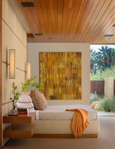 Bedroom in Palm Springs, CA by The Wiseman Group Interior Design, Inc.