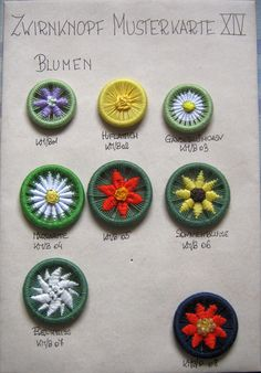Diy Buttons, Vintage Buttons, Button Art, Button Crafts, Make Your Own Buttons, Dorset Buttons, Passementerie, Lace Making, Loom Knitting
