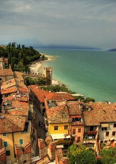 Sirmione, Italy (by Lior. L) | Places to travel, Places to ...